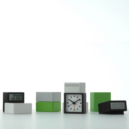 SERIE 2,5 R orologio LCD bianco