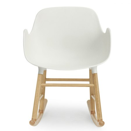 FORM armchair rocking bianca