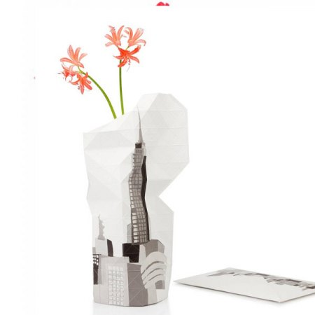 PAPER VASE COVER New York