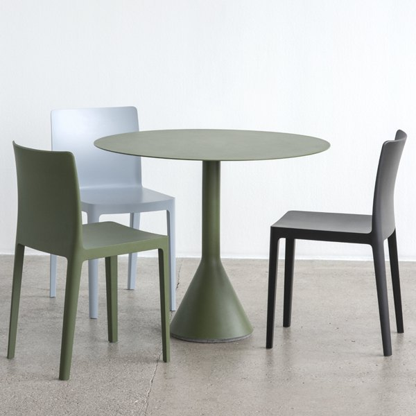 PALISSADE cone table 90 oliva