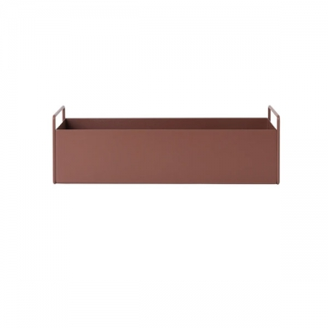 PLANT BOX SMALL rosso marrone