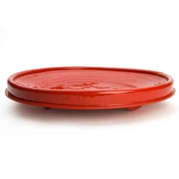 RED RIVISITED plate large