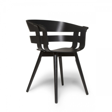 WICK CHAIR rovere nero
