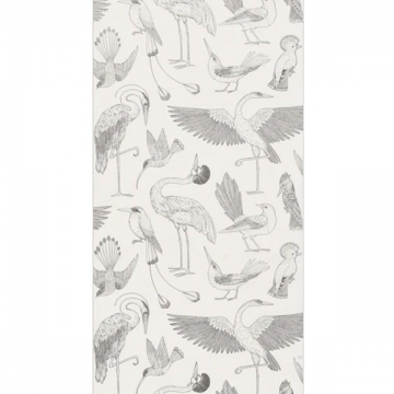 CARTA DA PARATI KATIE SCOTT BIRDS bianco
