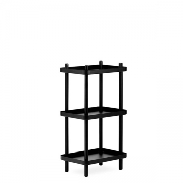 BLOCK SHELF nero