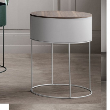 WIRE BASKET TOP rovere oliato