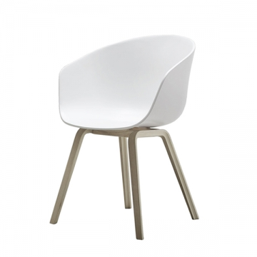 ABOUT A CHAIR  22  bianco
