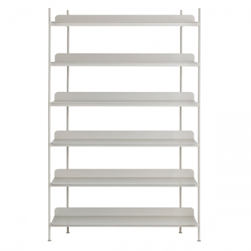 COMPILE SHELVING SYSTEM 183 grigio