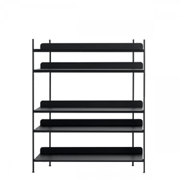COMPILE SHELVING SYSTEM 151 nero