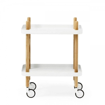 BLOCK TABLE bianco