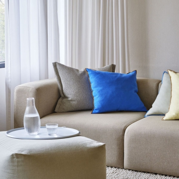 OUTLINE CUSHION blu