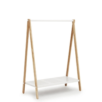 TOJ    CLOTHES RACK l bianco