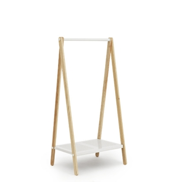 TOJ    CLOTHES RACK s bianco