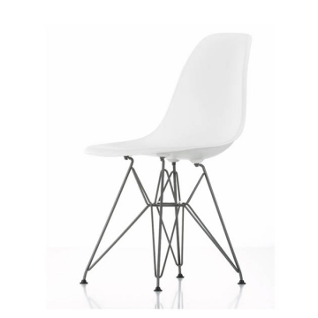 EAMES PLASTIC SIDE CHAIR DSR white