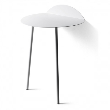 YEH WALL TABLE tall bianco
