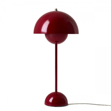 FLOWERPOT table rosso scuro