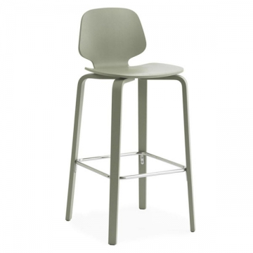 MY CHAIR BAR STOOL 75 verde polvere