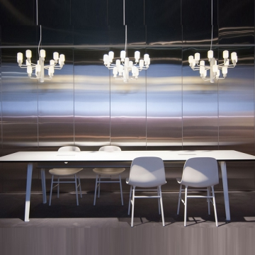 AMP CHANDELIER SMALL bianco