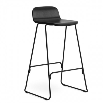 JUST BAR STOOL 75 nero