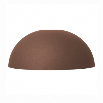 COLLECT LIGHTINS  Dome Shade marrone  rosso