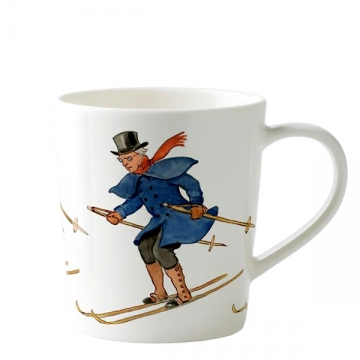 MUGS Uncle blue skiing