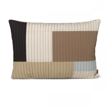 SHAY QUILT CUSHION 60X40 sabbia