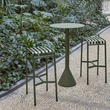 PALISSADE cone table high oliva